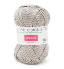 Phil Coton 3, 100% coton, couleur chanvre, 3,15 euros r chanvre