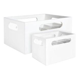 Paniers séparateurs Madera , 13x20x13, blanc, 11,99 euros, Zara Home Kids