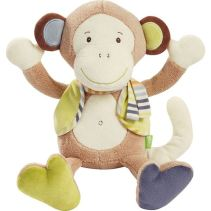 Babysun-doudou singe