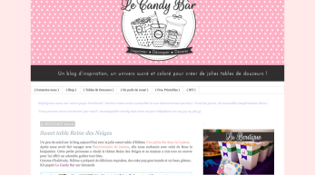 Le Candy Bar-Sweet Table