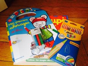 cahiers de coloriage